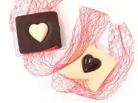 Bomboniera Cuoricino Solidale Cioccolato