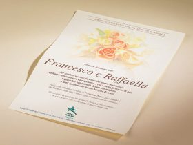 Bomboniera Pergamena Bouquet Matrimonio