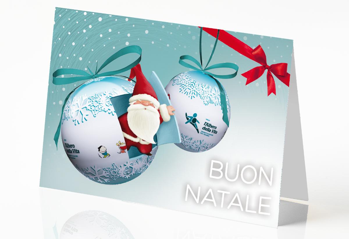 Buon Natale Del C Testo.Biglietto Buon Natale Bazar Solidale