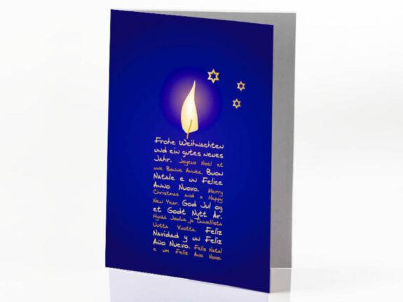 Biglietto Luce di Natale de L'Albero della Vita