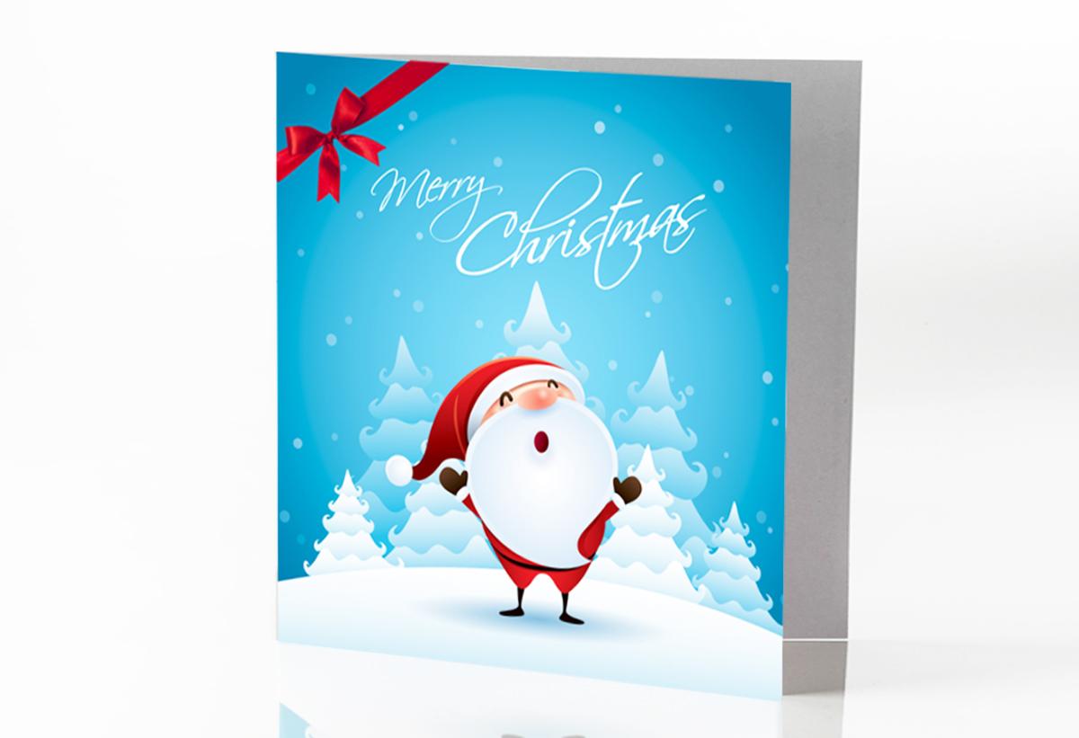 Regali Di Natale Personalizzati Per Aziende.Biglietto Neve Di Natale De L Albero Della Vita Onlus