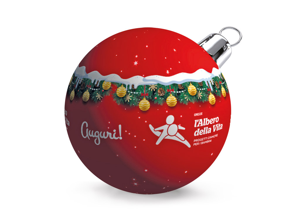 Regali Di Natale Onlus.Pallina Di Natale