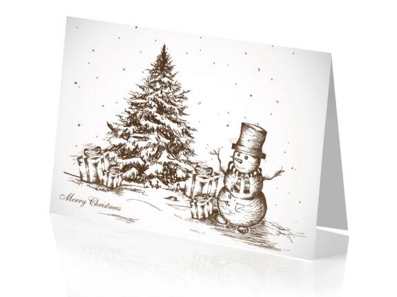 Biglietto Disegno di Natale